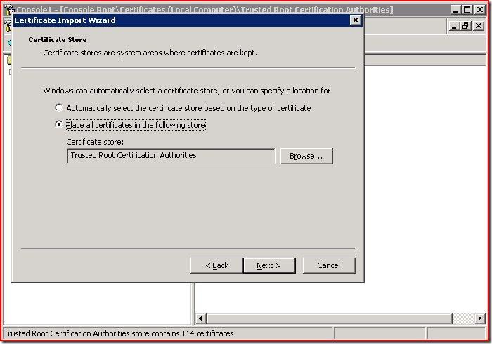 Getting GoDaddy SSLs Working in Firefox on IIS - Eric Duncan